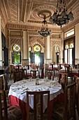 Cuba, Cienfuegos Province, Cienfuegos, Punta Gorda, Palacio de Valle, former sugar baron mansion, Moorish interior