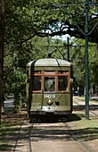900 SERIES STREET CAR SAINT CHARLES AVENUE GARDEN DISTRICT NEW ORLEANS LOUISIANA USA