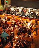 People at Miranda restaurant, Palermo Hollywood, Buenos Aires, Argentina
