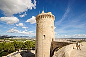 Major tower - main tower -, Bellver Castle, - XIV century -, Palma de Mallorca Mallorca Balearic Islands Spain