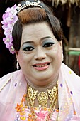 A nat-kadaw  medium  The biggest Nat ritual is held in Taungbyon, about twenty kilometers north of Wagung, in august, for six days including the full moon of Wagung  During a nat pwè, festival, during which nats are propitiated, nat-kadaws dance and embod
