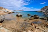 Cabo de Gata, Del Plomo Beach, Cala del Plomo, Cabo de Gata-Nijar Natural Park, Biosphere Reserve, Almeria, Spain, Europe