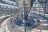 Architektur, Berlin, bulding, Bundestag, Deutschland, Dom, Norman Foster, parlament, Reichstag, Reise, Tourismus, Tourist, V51-1801993, AGEFOTOSTOCK