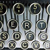 Old typewrater