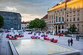 Museumsquartier,Vienna, Austria, Europe
