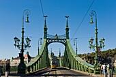 Hungary, Budapest, Liberty bridge
