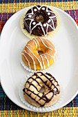 Baked Donuts With Icing