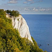 Koenigsstuhl, King's chair chalk cliffs, Jasmund National Park, Ruegen, Mecklenburg-Western Pomerania, Germany