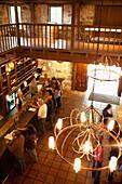 USA, California, Sonoma, the tasting room at the Buena Vista Carneros winery