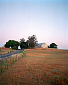 USA, California, Petaluma, farm on the drive between Petaluma and Point Reyes Station