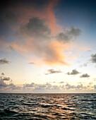 USA, Florida, Atlantic Ocean at dawn, Destin