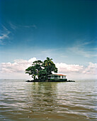 NICARAGUA, Granada, Las Isletas, a series of small privately owned islands