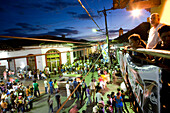 NICARAGUA, Granada, a street fair and festival in the streets of downtown Grendada
