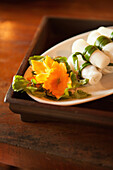 VIETNAM, Hue, a detailed shot of goi cuon (fresh summer roll)