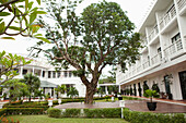 VIETNAM, Hue, La Residence Hotel, the exterior of the hotel courtyard