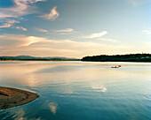 USA, Washington State, kayaking on Puget Sound, Totten Inlet, Olympic Peninsula