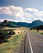 USA, Wyoming, Chief Joseph Scenic Highway, the road to Yellowstone National Park