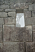 Detail Inka Stein Bauweise, Machu Picchu, Cusco, Cuzco, Peru, Anden, Südamerika
