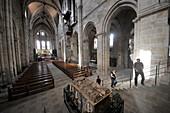 Emporer tomb in Bamberg Cathedral, Bamberg, Upper Franconia, Bavaria, Germany