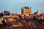 King's Palace, Rova, Analamanga hill, Antananarivo, capital, central highlands, Madagascar, Africa