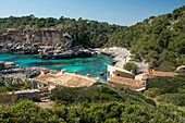 Cala s`Almunia, near Santanyi, Majorca, Spain