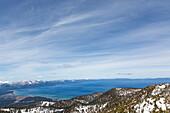 Sierra Nevada at Lake Tahoe, California, USA