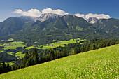 Totes Gebirge from Tamberg, Windischgarsten, Northern Limestone Alps, Upper Austria, Austria