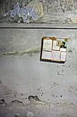 CDR information in a building, Santa Clara, Cuba.