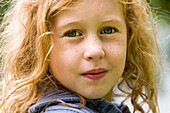 Close-up of Red Headed Girl