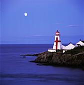 Lighthouse in Moon Light, Campobello Island, New Brunswick