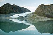 Glacier in Oliver Sound, Sirmilik National Park, Nunavut, Canada