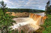 Alexandra Falls, near Hay River, Northwest Territories