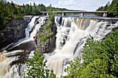 Kakabeka Falls on the Kaministiquia River, west of Thunder Bay, Ontario