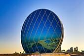 United Arab Emirates (UAE), Abu Dhabi City, Al Raha Beach, Aldar Headquarters (Circular Bldg.)