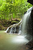 FREEDOM WATERFALL SHULL RUN ABOVE ALLEGHENY RIVER VENANGO COUNTY PENNSYLVANIA USA