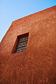 Grilled Window In Medina, Marrakesh,Morocco