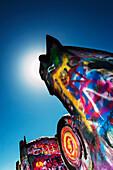 Stanley Marsh's Cadillac Ranch, Route 66, Amarillo, Texas Panhandle, Usa