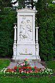 Tomb Of Franz Schubert, Zentralfriedhof, ( Central Cemetery ), Vienna, Austria