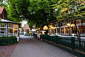 Hotel zur Linde, Spiekeroog, Spiekeroog Island, Nationalpark, North Sea, East Frisian Islands, East Frisia, Lower Saxony, Germany, Europe