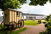 Conversation building, Norderney Island, Nationalpark, North Sea, East Frisian Islands, East Frisia, Lower Saxony, Germany, Europe