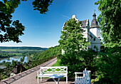 Renaissance Castle Dornburg, Saale Valley, Dornburg-Camburg near Jena, Thuringia, Germany