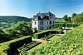 Castle Grounds of the Rococo Period Castle Dornburg, Saale Valley, Dornburg-Camburg near Jena, Thuringia, Germany