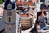 Parish church of St. Michael, Kirchplatz square, Jena, Thuringia, Germany