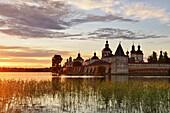 Sonnenuntergang, Kirillo-Belozersky Kloster, Kirillov, Region Wologda, Russland