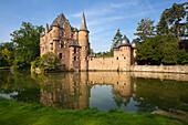Satzvey castle, near Mechernich, Eifel, North Rhine-Westphalia, Germany