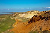 Morsum Kliff, bei Morsum, Insel Sylt, Nordsee, Nordfriesland, Schleswig-Holstein, Deutschland