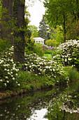 Temple of Flora, Woerlitz, UNESCO world heritage Garden Kingdom of Dessau-Woerlitz, Saxony-Anhalt, Germany