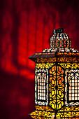 Illuminated Lamp, El Fenn, Marrakech, Morocco