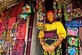 Kuna ethnic group, San Blas Archipelago, Kuna Yala Region, Panama, Central America, America