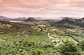Colonya Valley, pollença, Sierra de Tramuntana, Mallorca, Balearic Islands, Spain